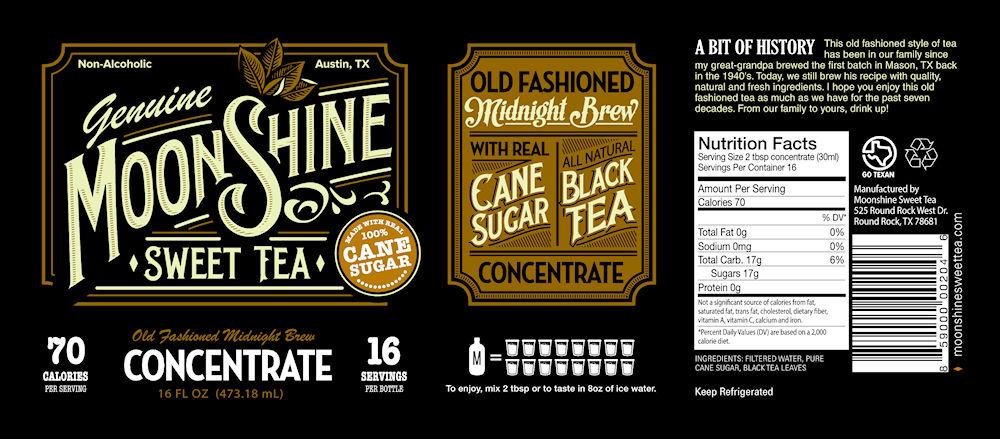 how to make sweet tea moonshine